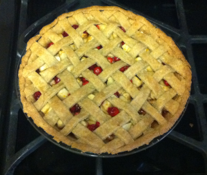 Cranberry Apple Pie Baked