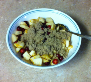 Cranberry Apple Pie Brown Sugar Mixture