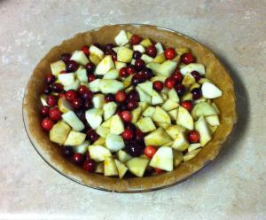 Cranberry Apple Pie Fruit Mixture