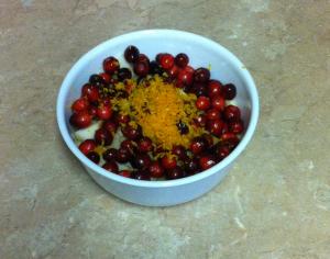 Cranberry Apple Pie Zest Mixture