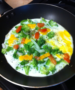 Omelet Cooking