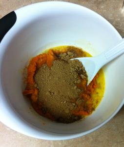 Pumpkin pie all mix