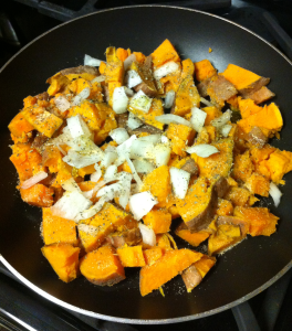 Sweet Potato Onion Mix pre fully cooked