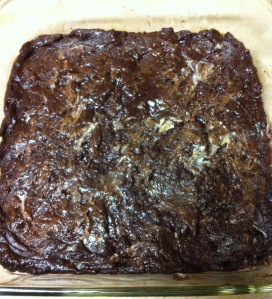 Brownie and White chocolate pre bake mix