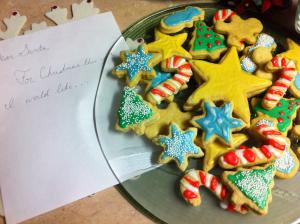 Christmas Sugar Cookies complete-Santa's Mix