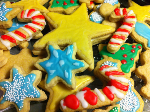 Christmas Sugar Cookies-Santa's Mix
