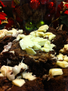 Peppermint White Chocolate Brownies