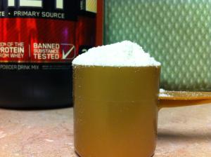 Vanilla Berry PB scoop