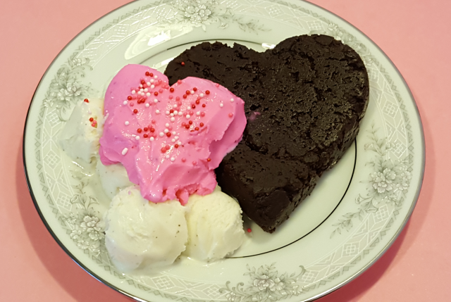 Brownie Heart 4-3