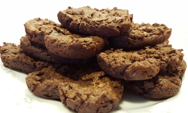 Brownie Heart 7-4