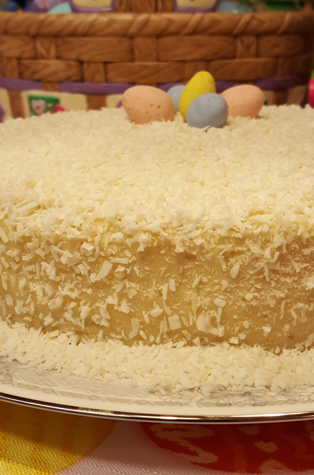 Coconut Lemon Cake 1