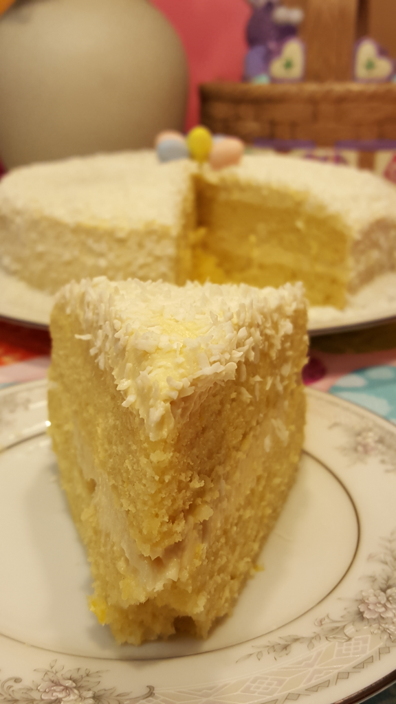 Coconut Lemon Cake 3