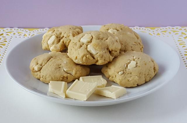 White Chocolate Orange Cookies 7